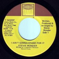 STEVIE WONDER - I AIN'T GONNA STAND FOR IT - TAMLA