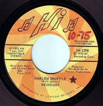HEINSIGHT - HARLEM SHUFFLE - HI DEMO