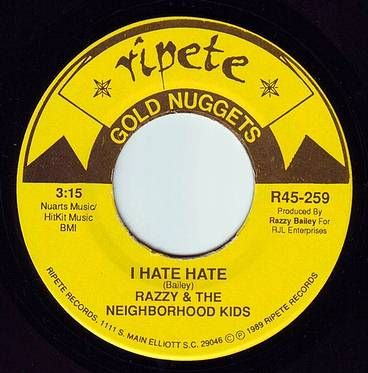 RAZZY - I HATE HATE - RIPETE