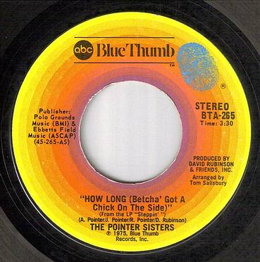 POINTER SISTERS - HOW LONG - ABC BLUE THUMB