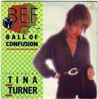 B.E.F. featuring TINA TURNER - BALL OF CONFUSION - VIRGIN