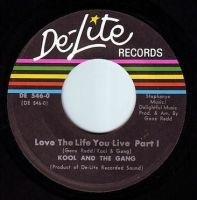 KOOL & THE GANG - LOVE THE LIFE YOU LIVE - DE-LITE