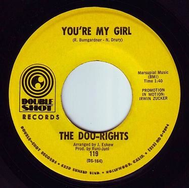 DOO-RIGHTS - YOU'RE MY GIRL - DOUBLE SHOT