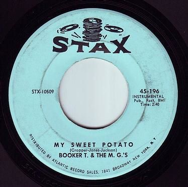 BOOKER T & THE MG'S - MY SWEET POTATO - STAX