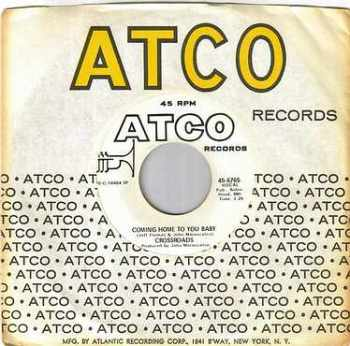 CROSSROADS - COMING HOME TO YOU BABY - ATCO dj