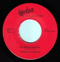 ROSCOE GORDON - NO MORE DOGGIN - MODERN OLDIES