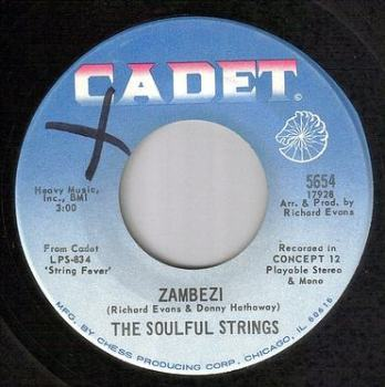 SOULFUL STRINGS - ZAMBEZI - CADET