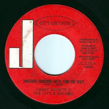 JIMMY BRISCOE & THE BEAVERS - TOGETHER, TOGETHER - J CITY