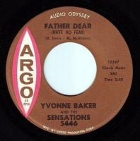 YVONNE BAKER - FATHER DEAR (HAVE NO FEAR) - ARGO
