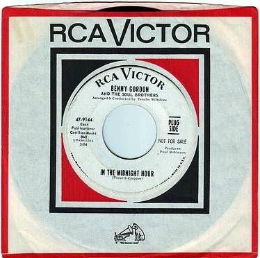 BENNY GORDON - IN THE MIDNIGHT HOUR - RCA DEMO