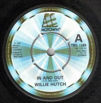 WILLIE HUTCH - IN AND OUT - TMG 1285