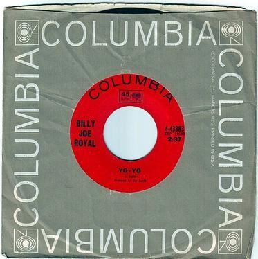 BILLY JOE ROYAL - YO YO - COLUMBIA