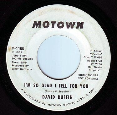DAVID RUFFIN - I'M SO GLAD I FELL FOR YOU - MOTOWN DEMO