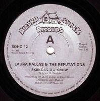 LAURA PALLAS - SKIING IN THE SNOW - RECORD SHACK