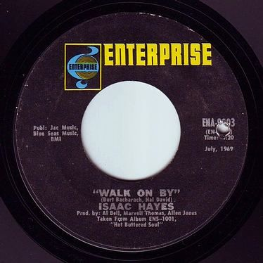 ISAAC HAYES - WALK ON BY - ENTERPRISE