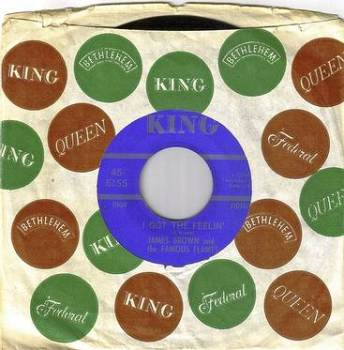 JAMES BROWN - I GOT THE FEELIN' - KING