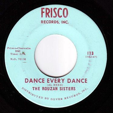 ROUZAN SISTERS - DANCE EVERY DANCE - FRISCO