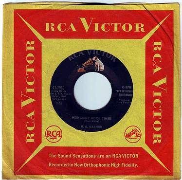 H.B. BARNUM - HOW MANY MORE TIMES - RCA