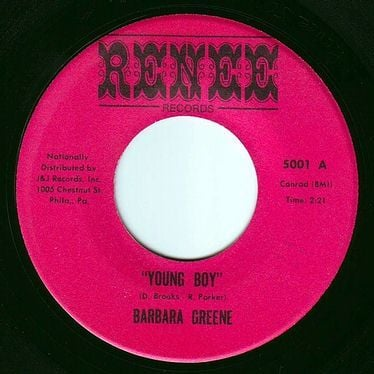 BARBARA GREENE - YOUNG BOY - RENEE