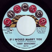 TAMMY MONTGOMERY - IF I WOULD MARRY YOU - CHECKER