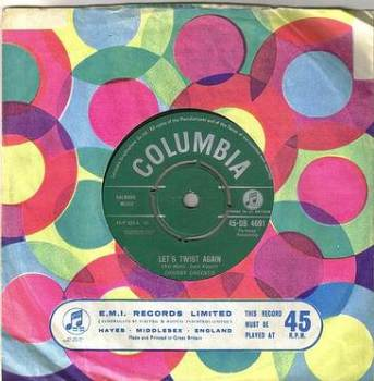 CHUBBY CHECKER - LET'S TWIST AGAIN - COLUMBIA