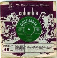 CLIFF RICHARD & THE DRIFTERS - LIVING DOLL - COLUMBIA
