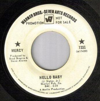 MERCY - HELLO BABY - WB dj