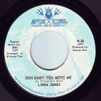 LINDA JONES - OOH BABY YOU MOVE ME - NEPTUNE
