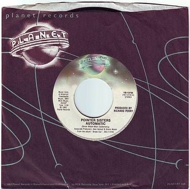 POINTER SISTERS - AUTOMATIC - PLANET