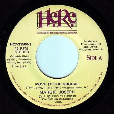 MARGIE JOSEPH - MOVE TO THE GROOVE - HCRC