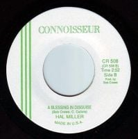 HAL MILLER - BLESSING IN DISGUISE - CONNOISSEUR
