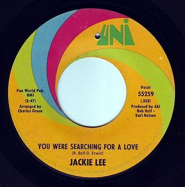 JACKIE LEE - YOU WERE SEARCHING FOR A LOVE - UNI