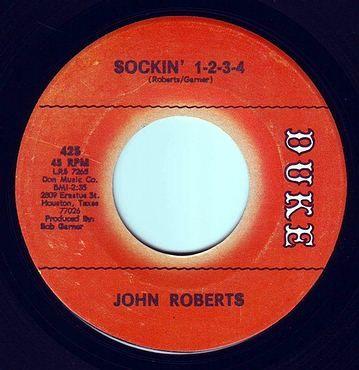 JOHN ROBERTS - SOCKIN' 1-2-3-4 - DUKE