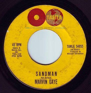 MARVIN GAYE - SANDMAN - TAMLA