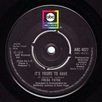 FREDA PAYNE - IT'S YOURS TO HAVE - ABC