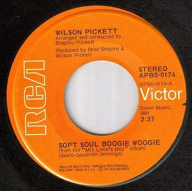 WILSON PICKETT - SOFT SOUL BOOGIE WOOGIE - RCA