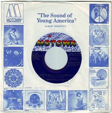 SUPREMES & FOUR TOPS - YOU GOTTA HAVE LOVE IN YOUR HEART - MOTOWN
