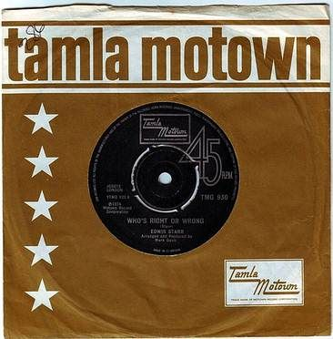 EDWIN STARR - WHO'S RIGHT OR WRONG - TAMLA MOTOWN