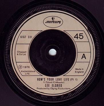 LEE ELDRED - HOW'S YOUR LOVE LIFE - MERCURY