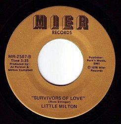 LITTLE MILTON survivors of love