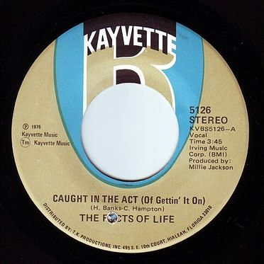 FACTS OF LIFE - CAUGHT IN THE ACT - KAYVETTE