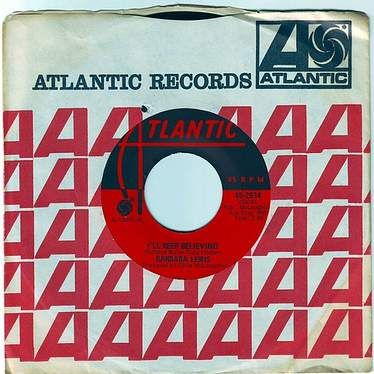 BARBARA LEWIS - I'LL KEEP BELIEVING - ATLANTIC