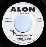 WILLIE HARPER - POWER OF LOVE - ALON DEMO