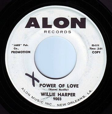 WILLIE HARPER - POWER OF LOVE - ALON DEMO