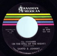 SANTO & JOHNNY - IN THE STILL OF THE NIGHT - CANADIAN AMERICAN