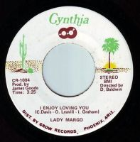 LADY MARGO - I ENJOY LOVING YOU - CYNTHIA