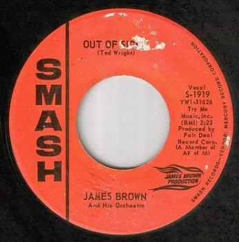 JAMES BROWN - OUT OF SIGHT - SMASH