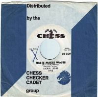 JACKIE ROSS - HASTE MAKES WASTE - CHESS DEMO
