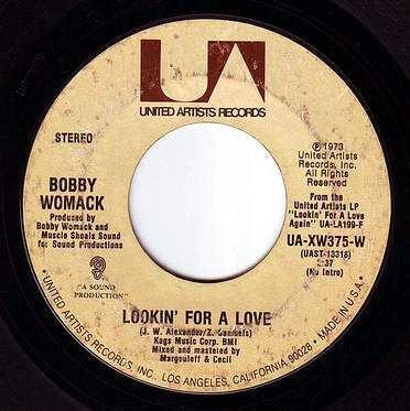 BOBBY WOMACK - LOOKIN' FOR A LOVE - UA