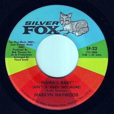 MARILYN HAYWOOD - MAMA'S BABY - SILVER FOX
